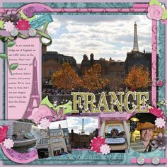 France Layouts (General) - Page 7 - MouseScrappers.com