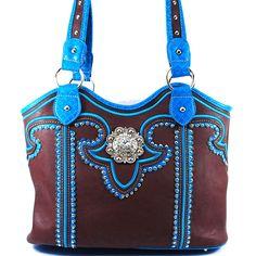 Western+Purse+Handbag+Shoulder+Bag+Messenger  SKU+CHF-118+CF Color+Coffee Dimension+13.5*11*5