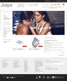 Goldstock Jewelers -  Custom Ecommerce Website - Drupal Commerce https://www.goldstockjewelers.com/