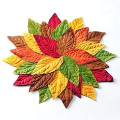Croft and Barrow Pile of Leaves Placemat by Croft & Barrow,