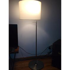 Sonneman lina floor lamp with off white linen shade you light up buy second hand floor lamps at up to off aloadofball Gallery