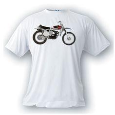 00a58dd9ec Husqvarna 250 Cross 1966 motorcycle motocross vintage image t-shirt racing  by artonstuffdesigns on Etsy