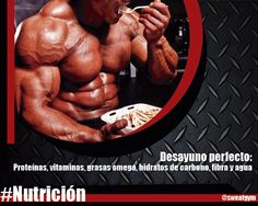 """""""Culturismo es 90% nutrición"""" #Salud #Nutrición #Cardio #Musculacion #Culturismo #Fitness #Gym #ComeSano #SweatGym #SoySweatGym #TerritorioSweatGym #MrSweat #SweatGymxVenezuela #ejercicio"""