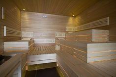 Finnish Sauna in NH Hotel Zandvoort, The Netherlands. Designed & Realized by: 4SeasonsSpa (www.4seasonsspa-pro.com)
