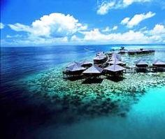 Best Secret Islands on Earth Sipadan Water Village Resort, Mabul Island, Borneo. Oh The Places You'll Go, Places To Travel, Places To Visit, Borneo, Dream Vacations, Vacation Spots, Maldives, Paradis Tropical, Paraiso Natural