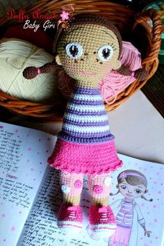 Amigurumi McStuffins doll crochet pattern