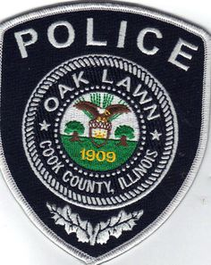 OAK LAWN POLICE DEPARTMENT  POLICE/SHERIFF PATCHES