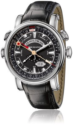 Arnold and Son Hornet World Timer,  A clever movement. good article