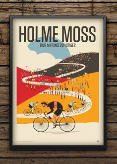 Tour 2014 / Holme Moss by Neil Stevens Print Shop
