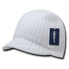 Decky Curved Knit Campus Jeep Beanie Cap