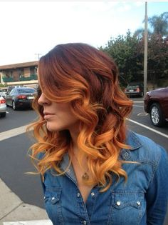 copper ombre Love, love, love this