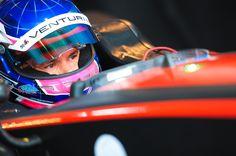 #ParisePrix #VenturiGP #StephaneSarrazin in car