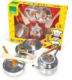 Little Cook Stovetop Set #8159 #magicforesttoys #vilac