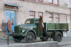 Russian Oldtimer Truck