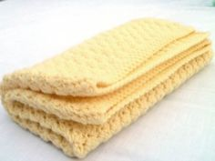 Yellow Crochet Baby Blanket by WintersGift on Etsy, $30.00