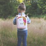 Unicorn Backpack Free Pattern - with Cricut Explore Air 2 - Sew Much Ado Sewing Patterns Free, Sewing Tutorials, Free Pattern, Sewing Projects, Hat Patterns, Sewing Ideas, Toddler Sleeping Bag, Burp Cloth Tutorial, Amy Butler Fabric
