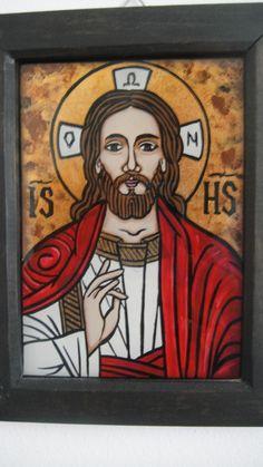 Religious Icons, Religious Art, Jesus Art, Art Icon, Orthodox Icons, Medieval Art, Christian Art, Templates, Frame