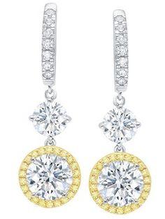 Little Miss Twin Stars Glitter Girl Opal Leverback Heart Earrings