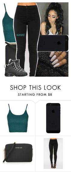 """""""been feeling great lately"""" by lamamig ❤ liked on Polyvore featuring Topshop, MICHAEL Michael Kors and Retrò"""