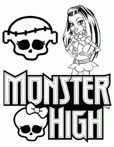 Free Printable Picture Of Monster High To Color For Girls