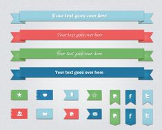 ribbon psd 39 50 Amazing And Useful Free Ribbons Psd Templates Free Banner Templates, Free Printable Banner, Psd Templates, Web Banner Design, Web Design, Graphic Design, Free Infographic Templates, Ribbon Banner, Social Media Banner