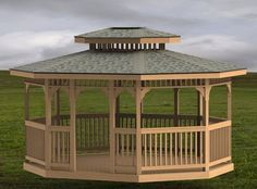 Gazebo Roof, Gazebo Plans, Backyard Gazebo, Garden Gazebo, Backyard Landscaping, Pergola, Gazebo On Deck, Gazebo Ideas, Yard Ideas