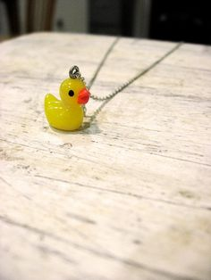 My Rubber Ducky Necklace - $15