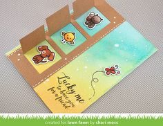 Cute card with windows!