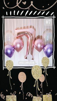 Kies en mix de leukste ballonnen voor je verjaardagsfeestje. Met helium...., bestel dan optijd via de app. Om teleurstelling te voorkomen. Afhalen in Nieuwegein, Boeketten.nl, buurtwinkel centrum Galecop Om