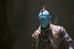 Michael Rooker told us the reason it took a sequel for Yondu to get his classic look - and teased a possible appearance in 'Avengers: Infinity War.'