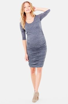 Easy work maternity outfits. Easy to dress up or down!