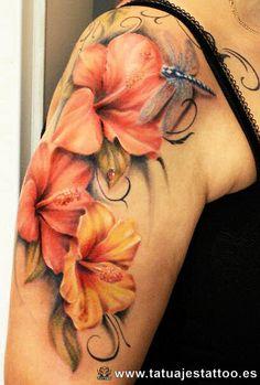 flor de lirio tatuaje - Buscar con Google