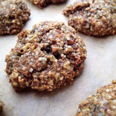 Paleo'ish on a Dime: N'Oatmeal Spiced Carrot Cake Cookies (Paleo / Vegan / Oat-free / Coconut-free)