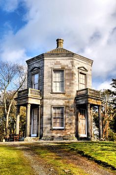 The Temple of the Winds at Mount Stewart in County Down, Northern Ireland:  This octagonal building was inspired by the Grand Tour the 1st Marquess took in his youth. Many country houses in the UK had adaptations of the 'temples' their owners had seen on their tours of the Mediterranean.
