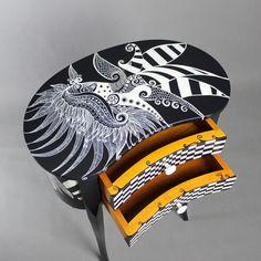 Moonlight Sonata chest of drawers home decor custom by ArtPoPo