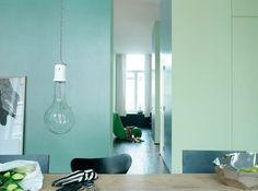 Vert frais mur