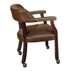 Tournament Rolling Captainu0027s Dining Chair