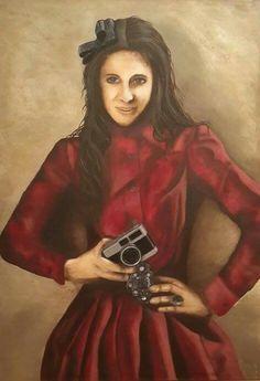 Oil painting 70x100cm, author: Lucie Přikrylová