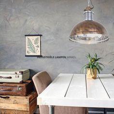 Bruine industriële hanglamp Brooklyn - 7670B Led Lamp, Brooklyn, Dining Table, Furniture, Home Decor, Decoration Home, Room Decor, Dinner Table, Home Furnishings