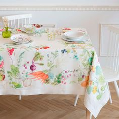 DIGITAL FRUIT-PRINT TABLECLOTH AND NAPKIN - Tablecloths & Napkins - Tableware | Zara Home United States of America