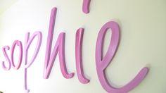 Kinderzimmer + Kinderzimmer + Kinderzimmer+ Kin... von PAULSBECK Buchstaben, Dekoration & Geschenke auf DaWanda.com