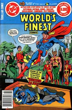 World's Finest Comics #269 (July 1981) cover by Rich Buckler and Dick Giordano.