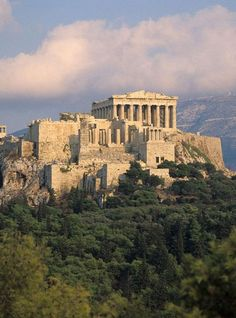 Greece Travel Inspiration - The Acropolis is one tourist-filled site in Athens you can't miss.