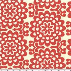 red pattern fabric : Repin if you like :)