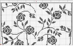 Crochet everything. Crochet Table Runner, Crochet Tablecloth, Crochet Doilies, Doily Patterns, Cross Stitch Patterns, Crochet Patterns, Fair Isle Knitting Patterns, Knitting Stitches, Filet Crochet Charts