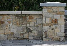 Stone Pillars, Deck Design, Granite, Exterior, Building Ideas, Wall, Outdoor Decor, Image, Google Search