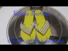 Manta Perola e dourada por Celeste Barbosa