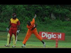 ✮✮✮Usain Bolt & Chris Gayle Playing Cricket | Chris Gayle bowled by Usai...