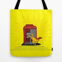 superduck Tote Bag by creaziz - $22.00