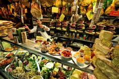 Florence Italy: Best indoor food market and best outdoor shopping